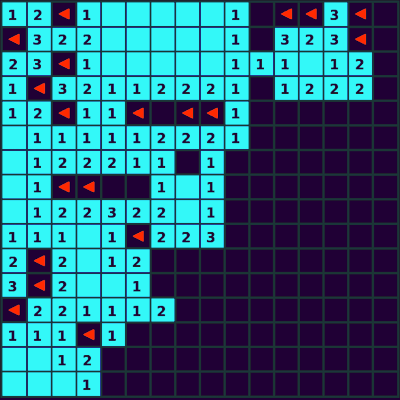 Playing Minesweeper graphic